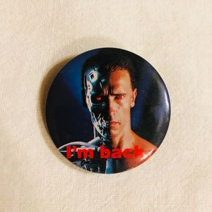 Other - Vintage Terminator Pin